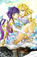 PSG ::: Panty+Stocking by ttururu
