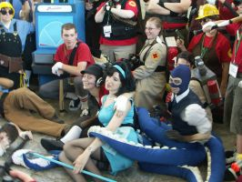 Otakon 2011: 2pm TF2 Shoot 4 by lunanotikdeo