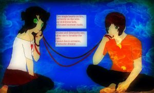 The Red String of Fate ~ShinXBarcelona~ by ArtistGirl147