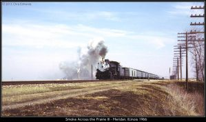Smoke Across the Prairie III by classictrains