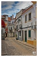 Street in Alcochete by Garelito-Photos