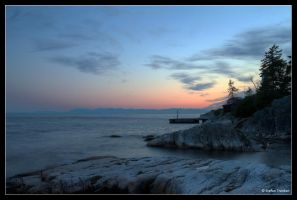 Sunset at Lighthouse Park by stetre76