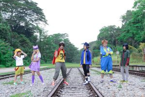 Digimon Frontier cosplay by Rii-ki-AruxKol