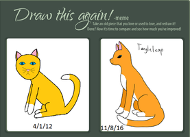 Draw It Again Cat Style by Tangle38