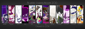 2013 Art Summary by Tigermix