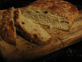 Oatmeal Apple Bread by Genflag