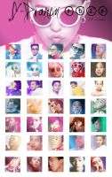 G-Dragon 2012 - 35 icons by dasmi93