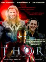 Thor and Loki vs Iron Man by JuneofJuly