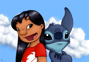 Lilo And Stitch by Ribera