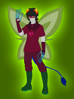 God Tier Nepeta (Rule 63) by Izzydactyl