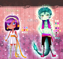 Adoptables Set Monsters 5$ or 500 Points by marina094