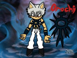 Orochi the Hedgehog (Updated Bio Since Hatena) by EvoDeus