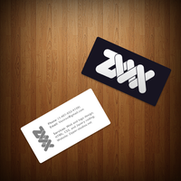Zipper Studios Business cards by Proxone