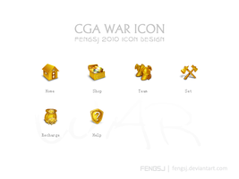 CGA WAR ICON by fengsj