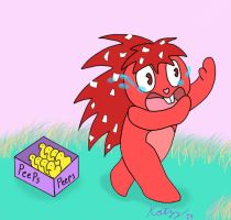 Flaky's Easter Scare by Katzy