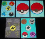 Pokemon ACEO Cards by liongirl2289