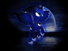 Princess Luna Wallpaper by PinkiePizzles