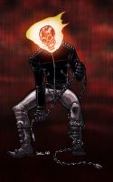 Ghost Rider Red by jharris