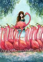 Fla-fla-flamingo by sherrae78