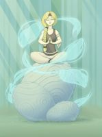 Temra Meditating by MowenDesigns