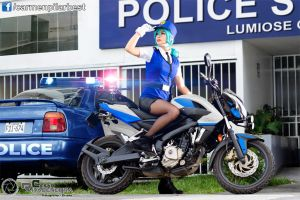 Police's Bike by DarkTifaStrife