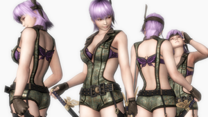 Ayane1099 D by lcmbrniftycomNWNS