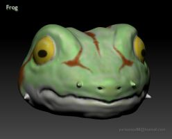 Frog from Chrono Trigger by Kratos-YMVS