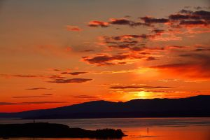 Oban Sunset by ZenonSt