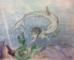 Day 5- Mermaid by Mezzeril