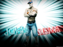 John Cena Wallpaper by Y2JGFX