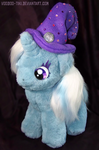 Trixie plushie with hat by Voodoo-Tiki