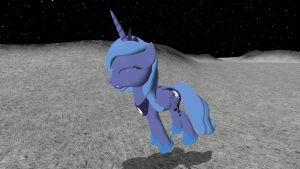What Luna Did On the Moon For 1000 Years -Part 2- by NightB1ader