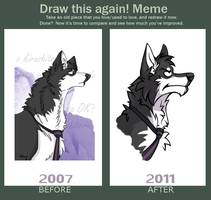 Before and After Meme by koisnake