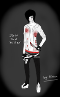Jeff the killer Drawing by buttercup200