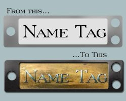 Name Tags by Genesis2Revolution