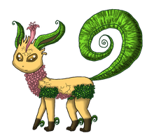 Legendary Leafeon by Cora-Rosemountain