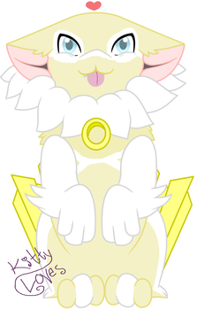 Fluffy Celestial Being by Kitty-Loves-All