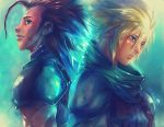 FF7 CRISIS CORE Cloud and Zack by SantaFung
