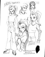 Adult Angel from TMNT Pic2 by alaer