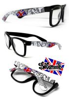 the british Glasses by Bobsmade