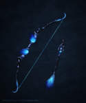 Bow of Blue Flame by ShadowDragon22