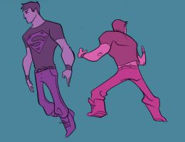 superboy warmups by pkzombie