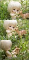 Naked in Nature 3 of 8 by MySweetQueen-Dolls