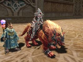 Lineage 2 - Lion mount by Brownfinger