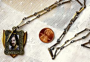 BBC Merlin Sir Gwaine of Camelot Necklace by elllenjean
