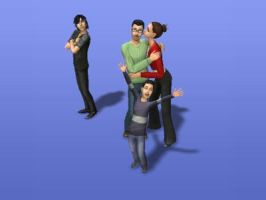 SIMS...other Taka Family by InuYashaDiva15