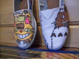 My Neighbor Totoro: shoes by CronaBaby
