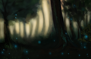 Shadow Forest by LowerSun