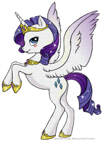 Princess Rarity by Wolfurchik