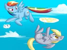 Derpy and Dashie v.02 by AnnaKitsun3